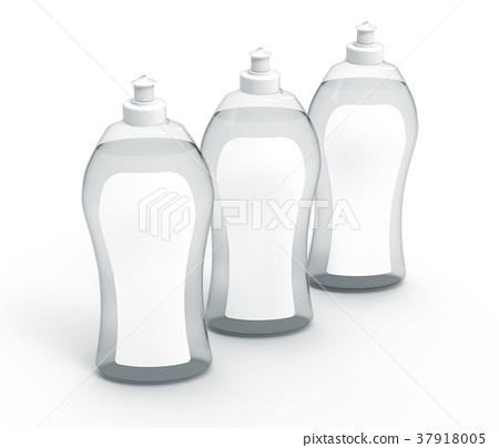 3D rendering Dishwashing liquid 37918005