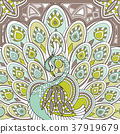 elegant peacock 37919679