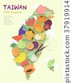 Taiwan fruit map 37919914