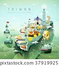 Taiwan travel map 37919925