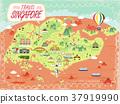 Singapore travel map 37919990