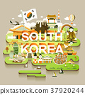 South Korea travel map 37920244