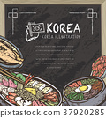 mouth-watering Korean food 37920285