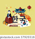 traditional Korean poster 37920316