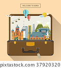 Korean attractions in luggage 37920320