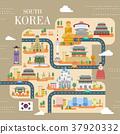 South Korea travel poster 37920332