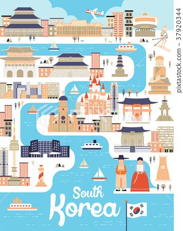 South Korea travel poster 37920344