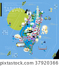 Taiwan attractions map 37920366