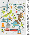 lovely Taiwan travel map 37920453