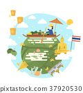 Thailand travel poster 37920530