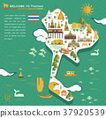 Thailand travel concept poster 37920539