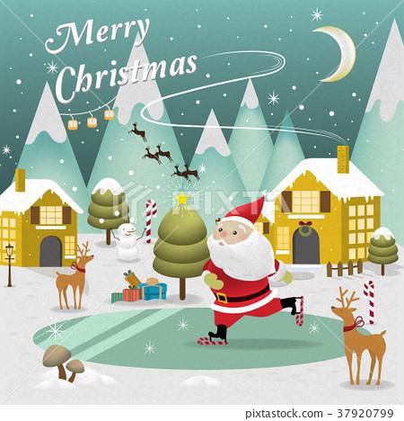 Christmas scenery 37920799