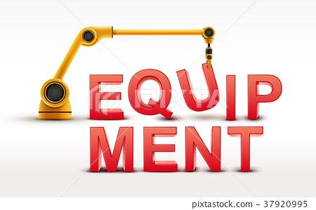 industrial robotic arm building EQUIPMENT word 37920995