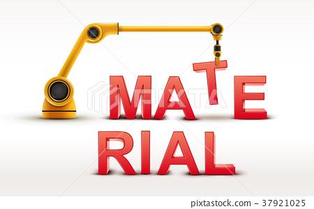 industrial robotic arm building MATERIAL word 37921025