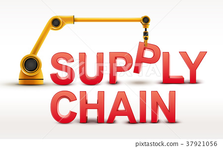industrial robotic arm building SUPPLY CHAIN word 37921056