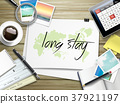 long stay written on paper 37921197