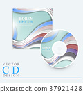 elegant CD cover template design 37921428
