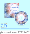 modern CD cover template design 37921462