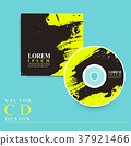 attractive CD cover template design 37921466