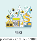 finance concept 37922089