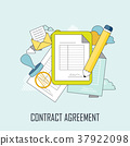 contract agreement concept 37922098