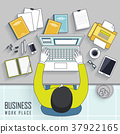 business workplace concept 37922165