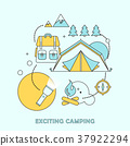 exciting camping concept 37922294