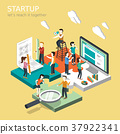 business startup concept 37922341