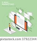 e-mail marketing concept 37922344