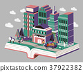 knowledge city concept 37922382