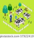 farm scenery concept 37922419