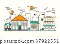 modern street scenery 37922551
