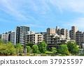 藍天 城市風光 城市景觀 37925597