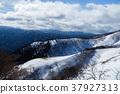 積雪 雪山 龍岳 37927313