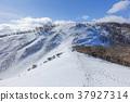 積雪 雪山 龍岳 37927314