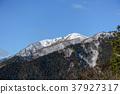 積雪 雪山 龍岳 37927317
