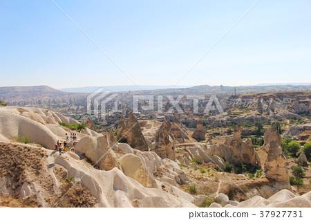 Photograph of scenery of Goreme of Cappadocia in Turkey 37927731