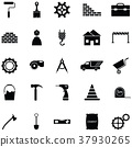 construction icon set 37930265