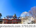 hokkaido, winter, building 37932616