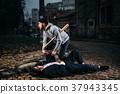 robber, victim, rob 37943345