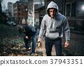 thief, weapon, victim 37943351