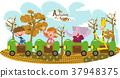 火車 動物 大象 37948375