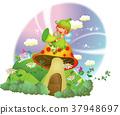蘑菇 天使 童話 37948697