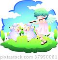 Christian illustration 37950081