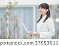 female, lady, woman 37953011