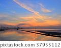 에가와 해안의 황혼 37955112