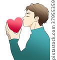 親吻 吻 接吻 37955359