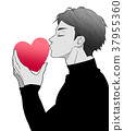 親吻 吻 接吻 37955360
