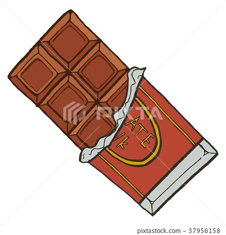 Bar of chocolate 37956158