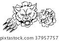 Wolf Esports Gamer Player Mascot 37957757
